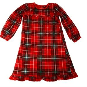 Carter's Plaid Christmas Nightgown